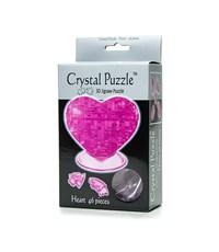 Фото 2. 3D головоломка Crystal Puzzle Сердце e 90002