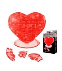 3D пазл Crystal Puzzle Сердце красное 990012
