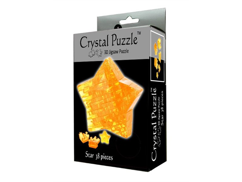 3D пазл Crystal Puzzle Звезда