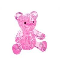3д пазл Crystal Puzzle Мишка розовый 90314