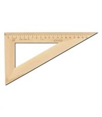 Треугольник Красная звезда 30°/230 мм деревянный