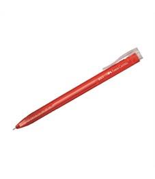 """Ручка шариковая автоматическая Faber-Castell """"RX5"""" красная, 0,5мм, красный корпус"""