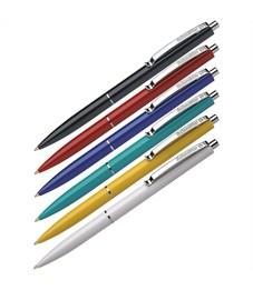 """Ручка шариковая автоматическая Schneider """"K15"""" синяя, корпус ассорти, 1,0мм, ш/к"""