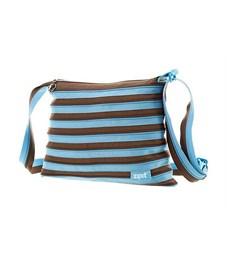 Сумка молодежная Zipit Medium Shoulder Bag голубой-коричневый