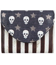 Визитница-кошелек Mojo Skull Flag