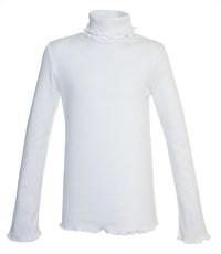 Водолазка Снег для девочки белый ажур 959-ДАДВ-07