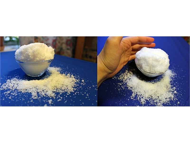 Волшебный снег 10 г бирюзовый  (400 мл готового снега)
