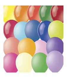 Воздушные шары, 100шт., М12/30см, Поиск, ассорти, декор