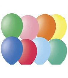 Воздушные шары, 100шт., М12/30см, Поиск, ассорти, пастель