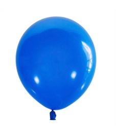 Воздушные шары, 100шт., М12/30см, Поиск, синий, пастель