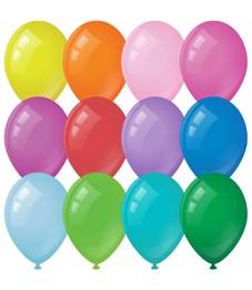 Воздушные шары, 100шт., М9/23см, ArtSpace, пастель, 12 цветов ассорти