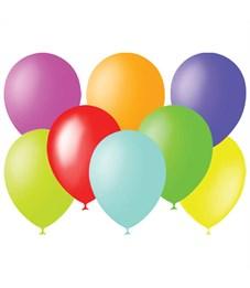 Воздушные шары, 100шт., М9/23см, Поиск, пастель, ассорти