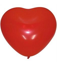 """Воздушные шары,  50шт., М10/25см, Поиск """"Сердце"""", декор"""