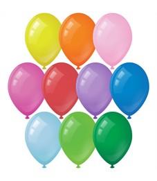 Воздушные шары,  50шт., М12/30см, ArtSpace, пастель, 10 цветов ассорти