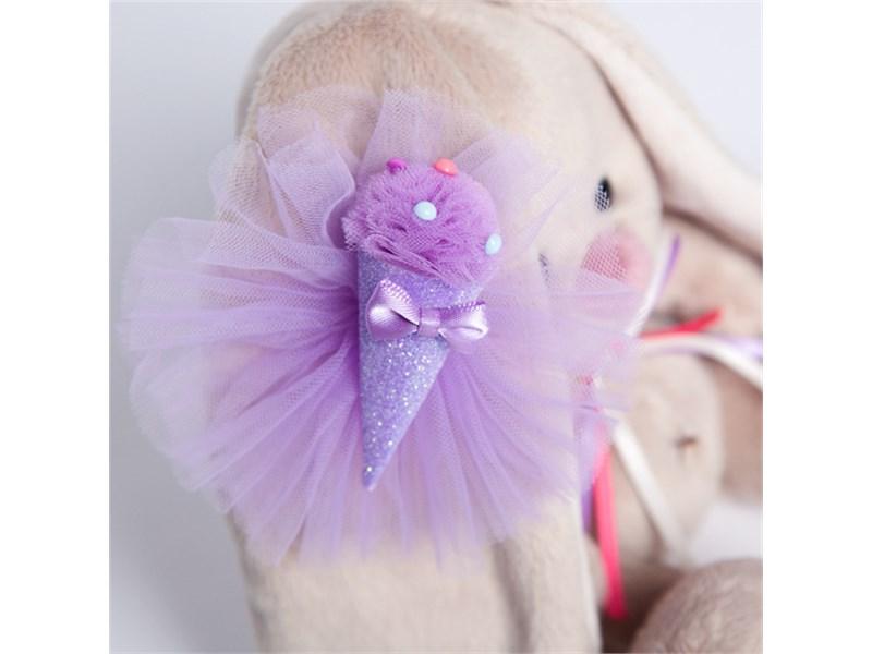 Зайка Ми с фиолетовым мороженым