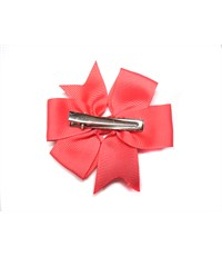 Фото 2. Заколка для волос Бантик ярко-розовый - 2 штуки