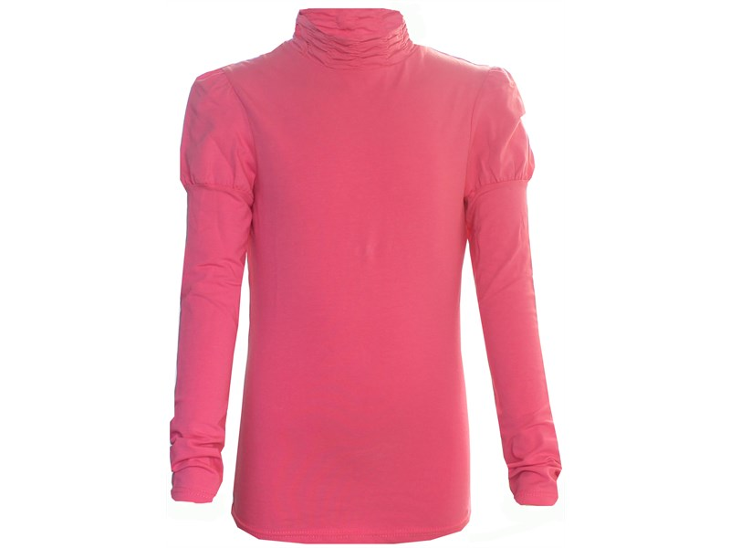 Джемпер Снег для девочки ярко-розовый рез по воротнику