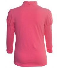 Фото 2. Джемпер Снег для девочки ярко-розовый рез по воротнику